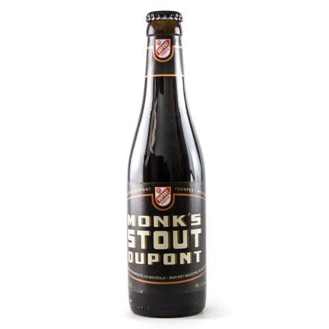 Monk's Stout Dupont - Fles 33cl - Stout