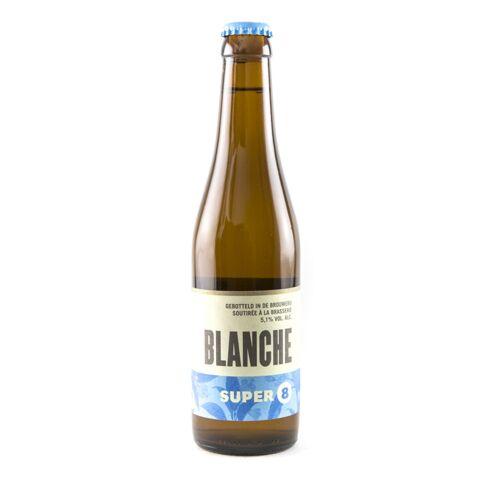 Super 8 Blanche - Fles 33cl - Wit